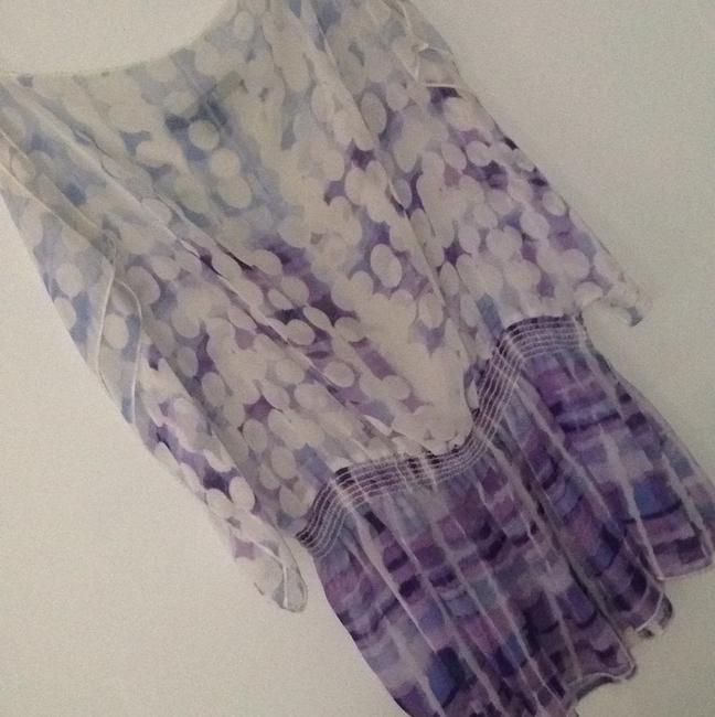 Forever 21 Top Purple and Blue