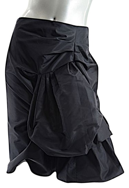 Preload https://item4.tradesy.com/images/marc-jacobs-black-silkpoly-satin-wasymmetric-ruch-detail-bergdorf-us-knee-length-skirt-size-6-s-28-4584988-0-0.jpg?width=400&height=650