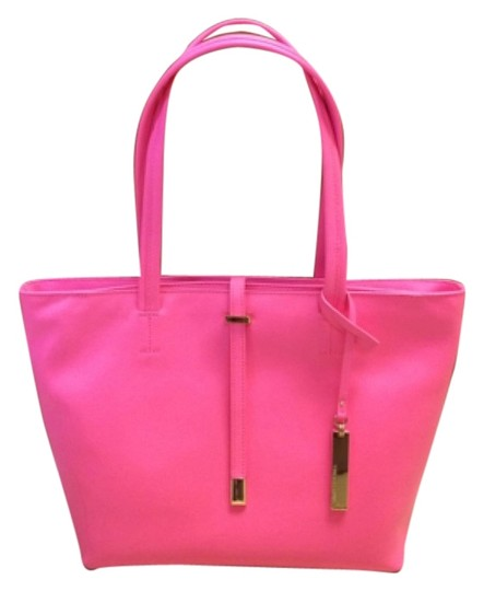 Preload https://item5.tradesy.com/images/vince-camuto-leila-fiesta-pink-leather-tote-4585159-0-0.jpg?width=440&height=440