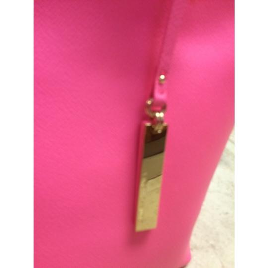 Vince Camuto Tote in Fiesta Pink