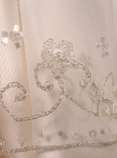 White Medium S3162vl Bridal Veil