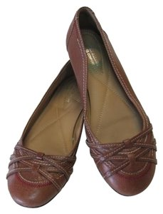 Naturalizer Very Good Condition Dark Tan Flats