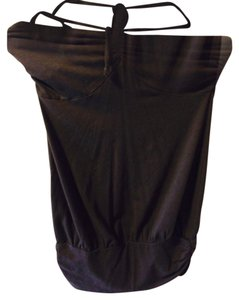 Moda International Brown Halter Top