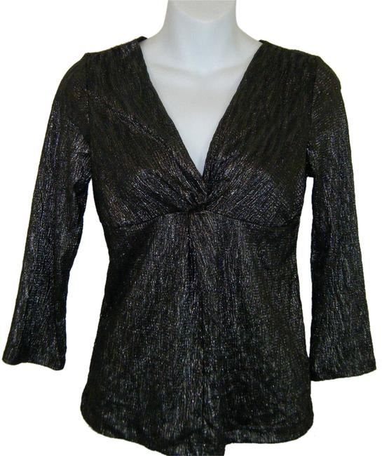 NY Collection Top black & silver