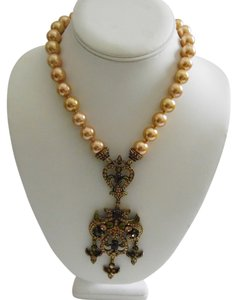 Heidi Daus Authentic Heidi Daus Beaded Crystal Necklace 16 Inch with 3 Inch Extender