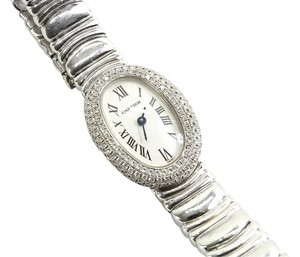 Cartier CARTIER DIAMOND BAIGNOIRE WATCH RARE