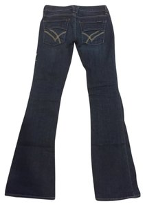William Rast Justin Timberlake Belle Denim Flare Leg Jeans-Dark Rinse