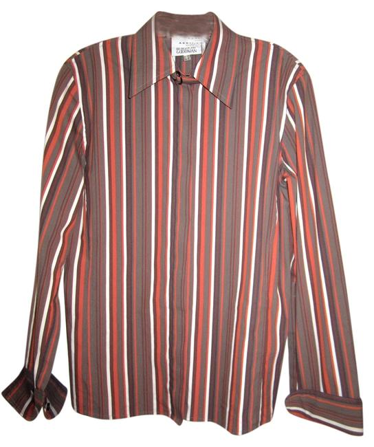 Preload https://item5.tradesy.com/images/akris-punto-multi-color-stretch-cotton-striped-browns-long-sleeve-bergdorf-button-down-top-size-10-m-4586299-0-0.jpg?width=400&height=650