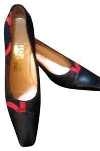 Salvatore Ferragamo Multi-Color Pumps