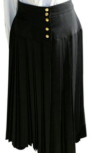 Louis Feraud Vintage Skirt Black