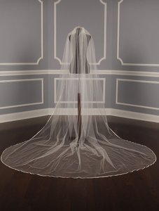 Your Dream Dress Exclusive S418vl Ivory Chapel Length Bridal Veil
