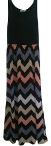 Multi Color Maxi Dress by Shang Ya