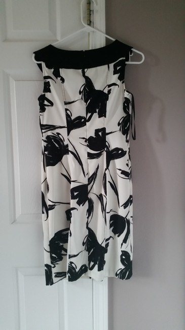 AB Studio short dress black and white on Tradesy