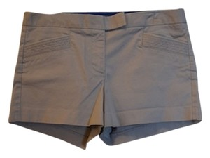 J.Crew Lined Lining Unique Pockets Mini/Short Shorts Gray