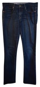 Gap Classic Real Denim Fall Dark Dark Rinse 1969 1969 Straight Leg Jeans-Dark Rinse