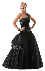 Mystic Prom Ball Gown One Shoulder Dress