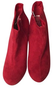 Madeline Red Boots