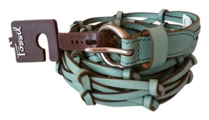 Fossil Fossil Women Belt - Turquoise Size L
