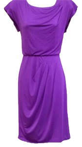 Vince Camuto short dress Purple on Tradesy