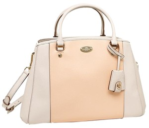 Coach Colorblock Two Tone Satchel