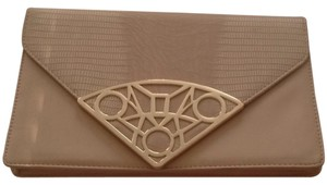 French Atmosphere Nude Clutch