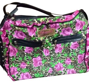 Betsey Johnson Pink Travel Bag