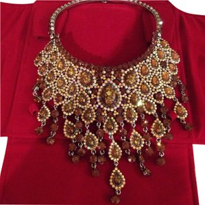 Goddess Bridal Statement Necklace