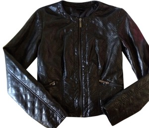 Mossimo Supply Co. Quilted Moto Classic Faux Leather Motorcycle Jacket