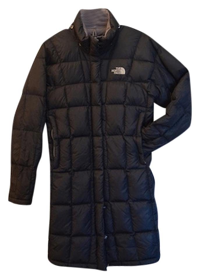 The North Face Black Classic Winter Winter Long Insulating Coat Size ... 9359711bf