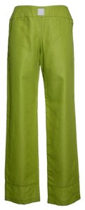 Emporio Armani New Straight Pants Yellow Green