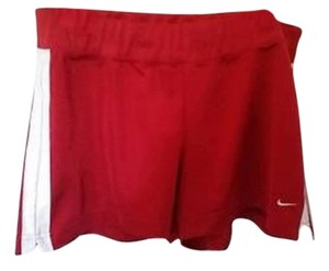 Nike Nike women's L (12-14) multi-sport athletic shorts red/whi