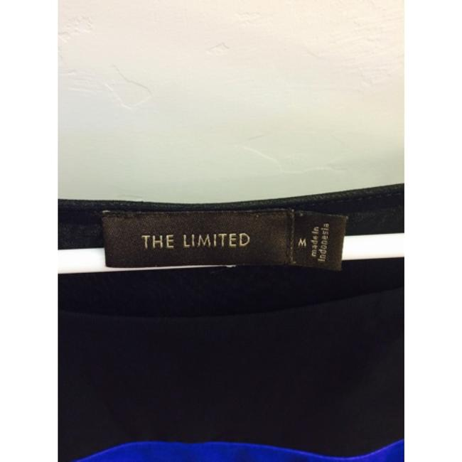 The Limited Top Black / Blue
