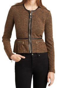 Burberry Brit Bronze Leather Jacket