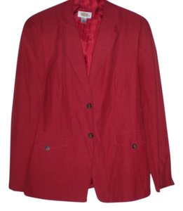 Talbots brick red Blazer