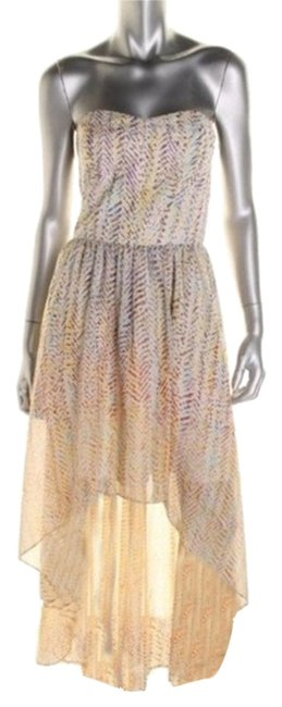 Item - Multi-color Type: Sundress / Los Angeles High-low Casual Maxi Dress Size 0 (XS)