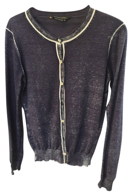 BCBGMAXAZRIA Bcbg Distressed Washy Cardigan