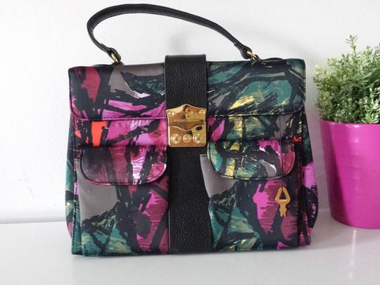 Trina Turk Floral Doctor Style Satchel in Multi