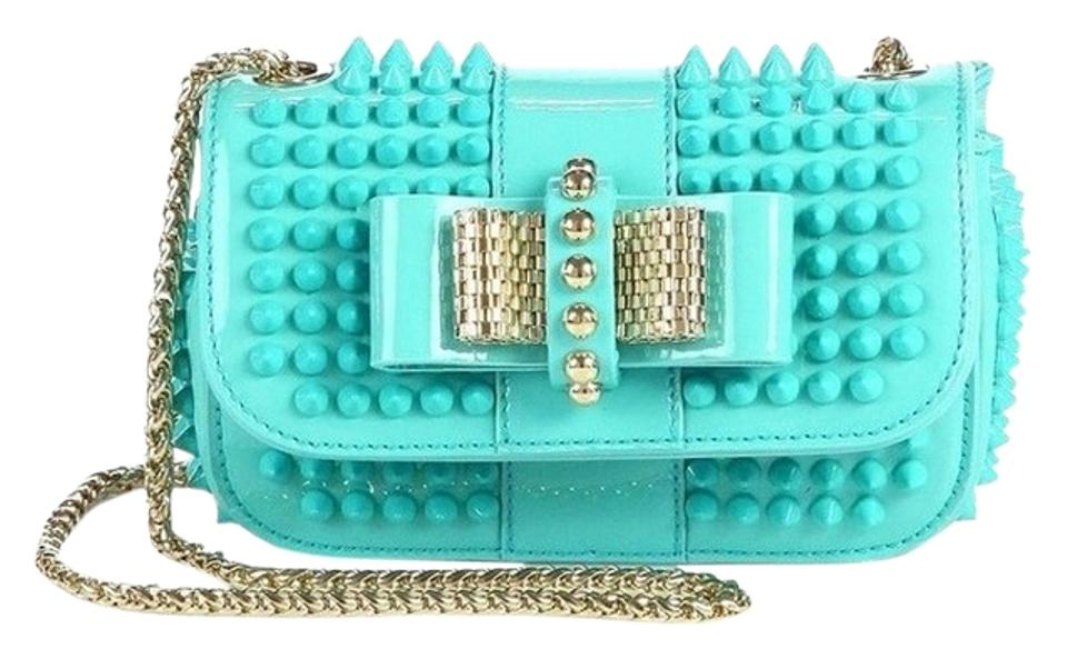 22a24a851a1 Christian Louboutin Spikes Studded Studs Sweet Charity Cross Body Bag Image  0 ...