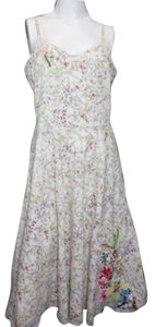LANCE KARESH short dress Lance Embroidered Sun on Tradesy