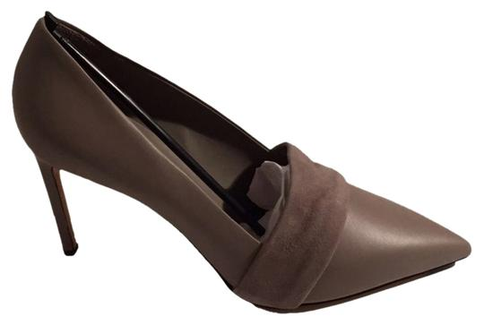 Vince Suede Leather Comfortable Brown Pumps