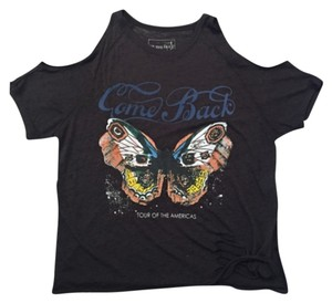 Free People T Shirt Charcoal