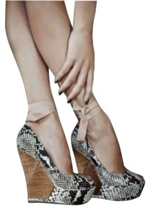 Lanvin Natural Wedges