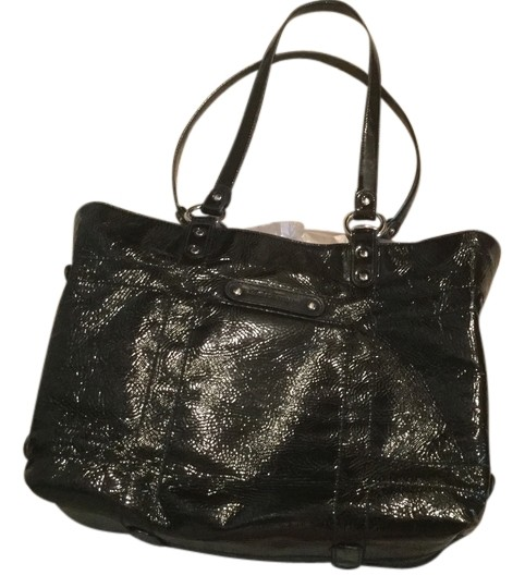 Salvatore Ferragamo Vintage Tote in Black/Wild