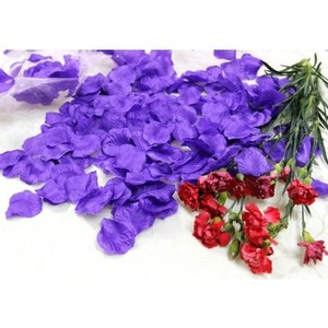 500x Lavender Silk Rose Petal More Color Available Table Top Centerpieces Vase Decor