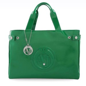 Armani Jeans Tote in Green