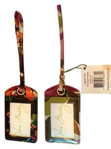 Vera Bradley Luggage Tag Portobello Road
