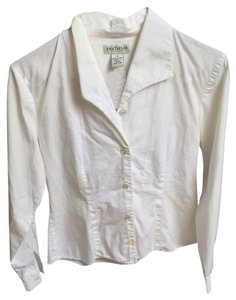 Ann Taylor Button Down Shirt White