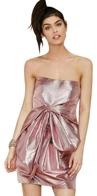 Nasty Gal Bows Pink Dress