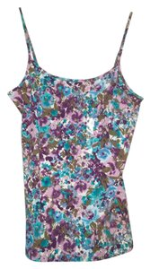 Ann Taylor LOFT Top Blue/purple multicolor