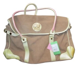 Lilly Pulitzer Satchel in Suede